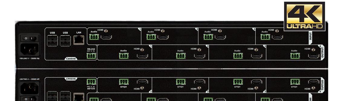 4x4 4K Video Processor
