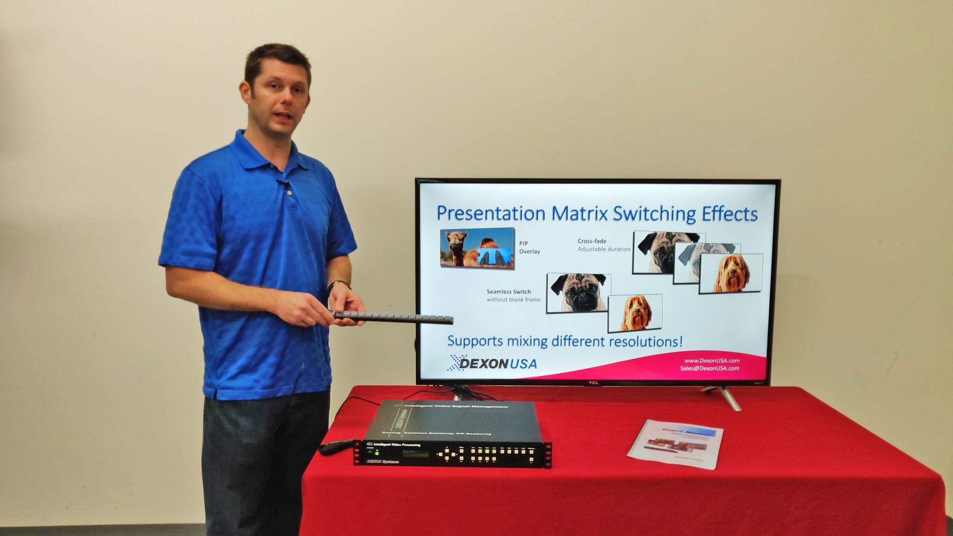 Presentation Matrix Image