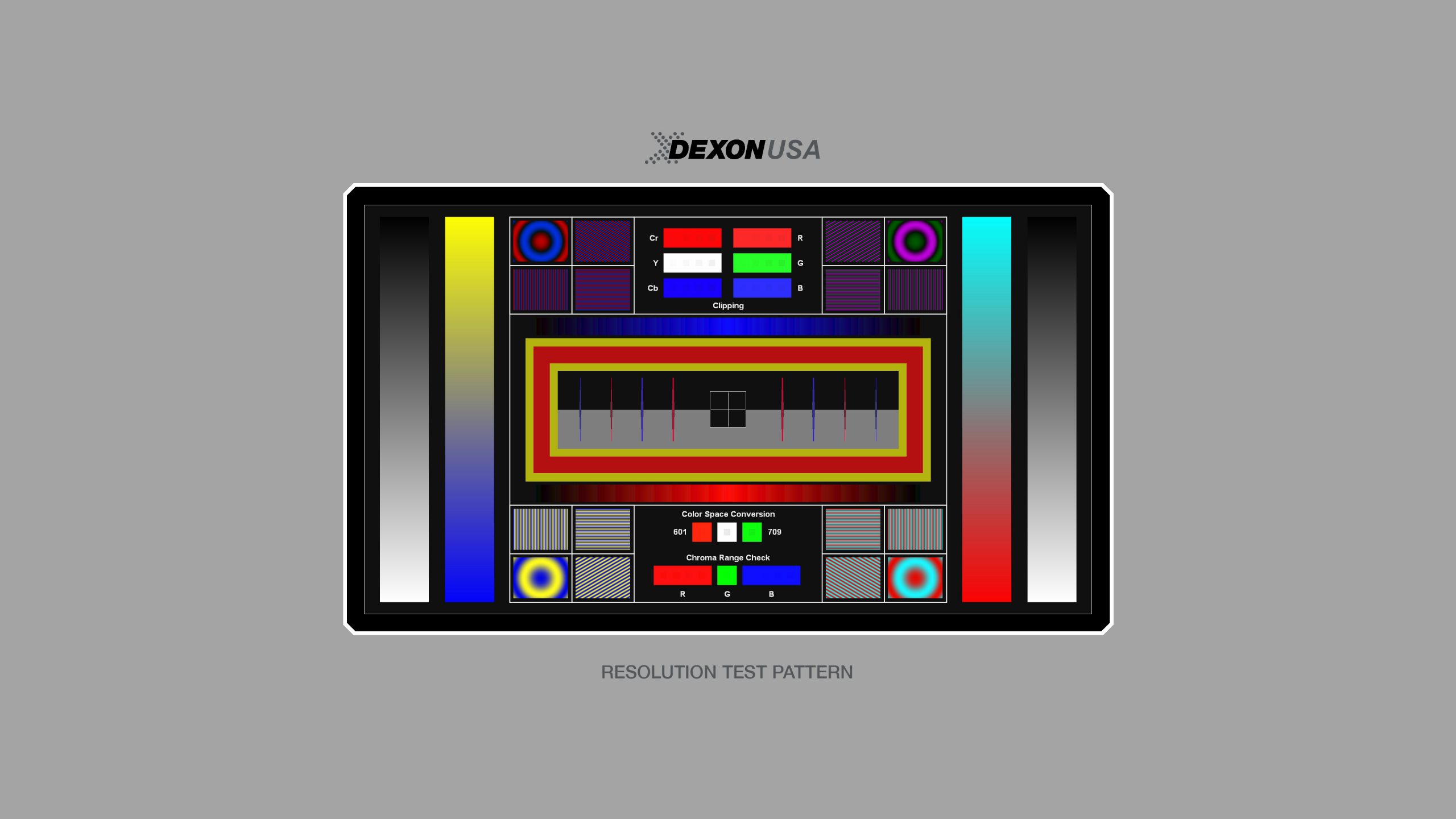 Dexon USA Resolution Test Pattern