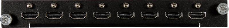 HDMI 4K60Hz input board - 8x channels